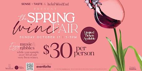 Spring Wine Fair tickets