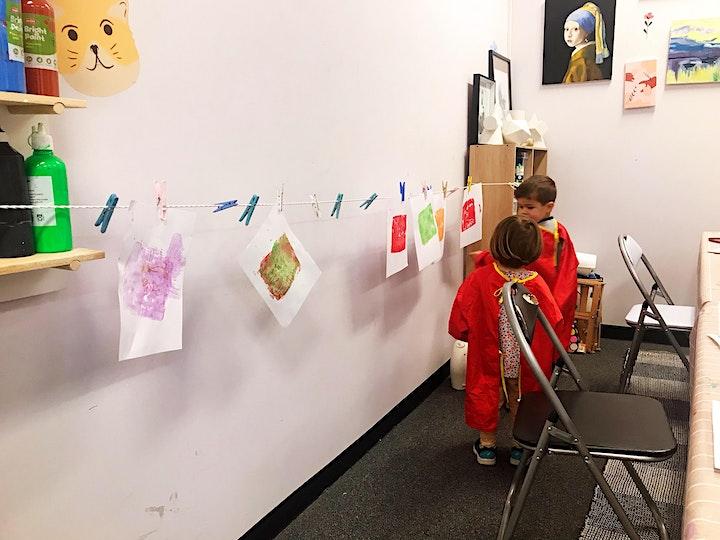 4-6yrs kids: Printmaking & Hip-Hop dance combined workshops image