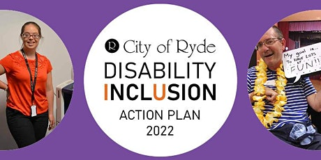 Online Community Focus Group - Disability Inclusion Action Plan tickets
