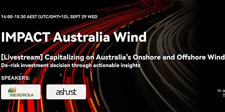 Capitalizing on Australia's Onshore and Offshore Wind Potential tickets