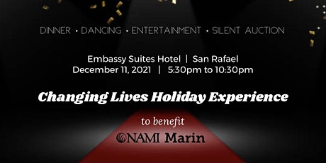 Changing Lives Holiday Experience  to benefit NAMI Marin tickets