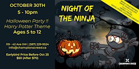 Night of the Ninja at Champion's Creed Martial Arts tickets