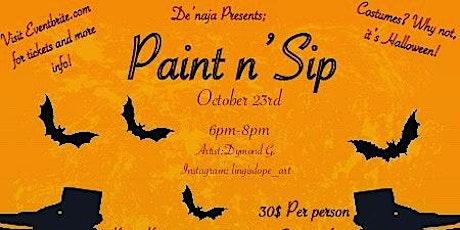 Paint N Sip tickets