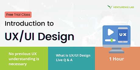 Introduction to UX/UI Design Course (Part-time) (Cantonese) tickets