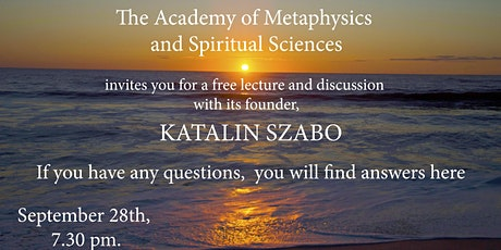 Free spiritual lecture tickets