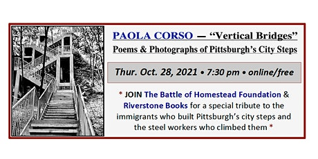 Vertical Bridges: Poems & Photographs of Pittsburgh's City Steps tickets