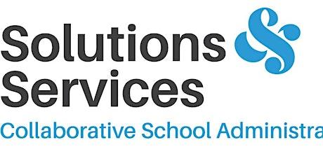 Solutions & Services School Finances Seminar CHCH Sec/Area tickets