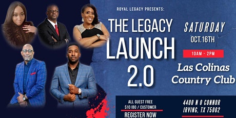 Royal Legacy Relaunch 2.0 Super Saturday tickets