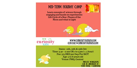 Curiosity Kids Mid Term Camps tickets