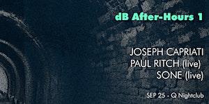 [dB 2015 After-Hours] JOSEPH CAPRIATI (dj) PAUL RITCH...