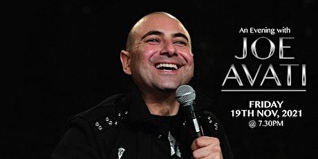 Viva Joe Avati Live - Dinner/comedy show at the Reggio Calabria Club tickets