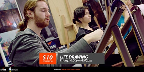 Open Life Drawing on Friday night (22 October 2021) tickets