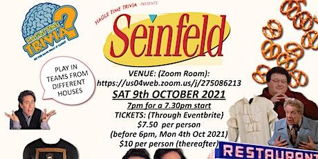 Seinfeld Online Trivia tickets