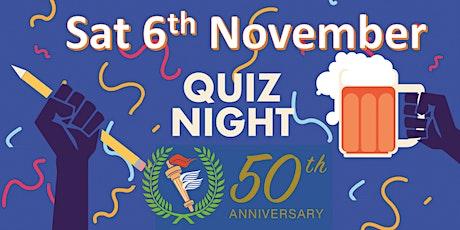 Quiz Night - Suburbs New Lynn Cricket Club tickets