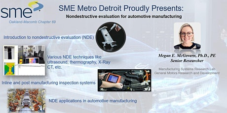 Nondestructive evaluation for automotive manufacturing tickets
