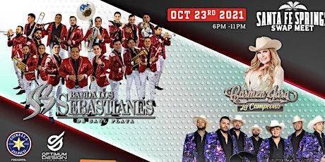 Banda Los Sebastianes, Alacranes Musical, y Carmen Jara tickets