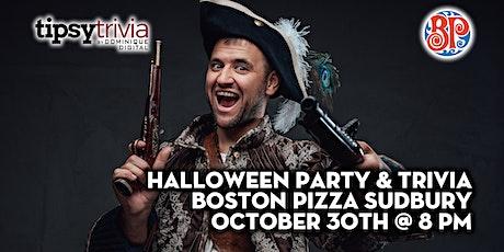 Halloween Party & Trivia - Oct 30th 8:00pm - Boston Pizza Sudbury tickets