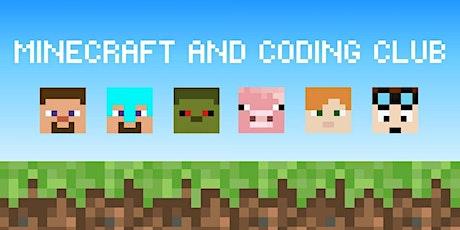 Minecraft & Coding Club - Seaford Library tickets