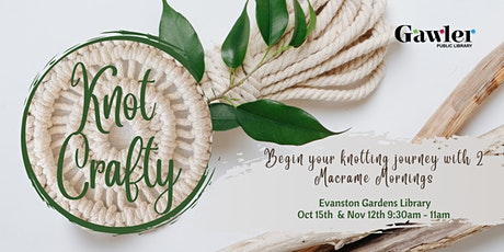 Knot Crafty Macrame Morning (part 1) tickets