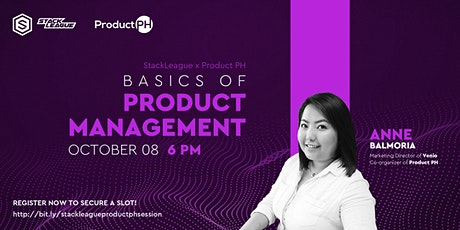 StackLeague x Product PH: Basics of Product Management tickets