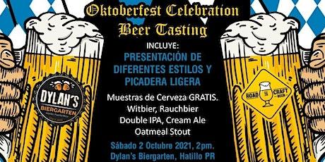 Oktoberfest Celebration  Beer Tasting tickets