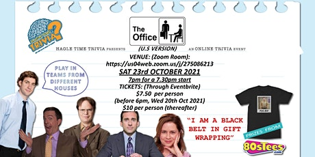 The Office (US) Online Trivia tickets