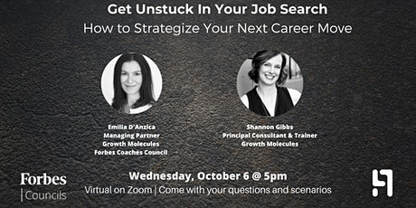 Get Unstuck: How to Strategize Your Next Career Move II tickets