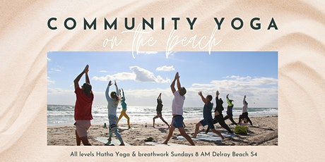 Sunday Morning Yoga on Delray Beach tickets