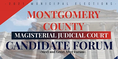 Montgomery County Magisterial Candidate Forum tickets