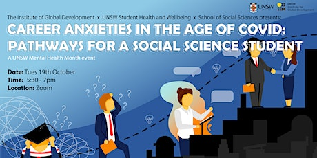 Career Anxieties in the age of COVID: Pathways for a Social Science Student tickets