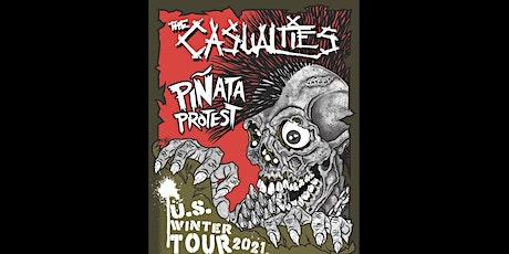 The Casualties || Defiance || Piñata Protest || PORTLAND tickets