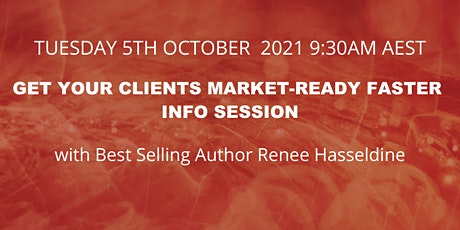 Get Your Clients Market Ready Faster - Think RAPT Info Session tickets