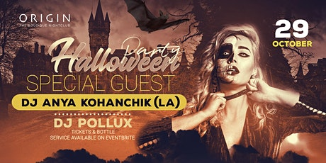 Special Halloween Affair on Friday, October 29th tickets