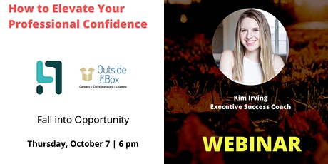 How to Elevate Your Professional Confidence II tickets
