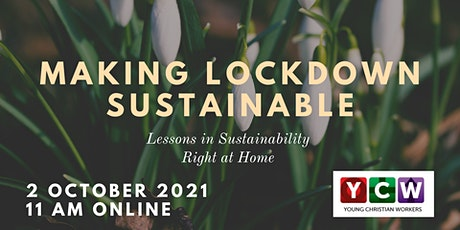 Making Lockdown Sustainable tickets