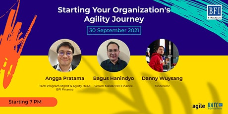 Starting your organization's agility journey tickets