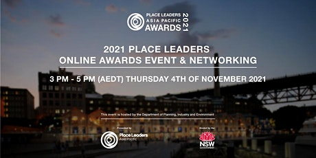 2021 PLACE LEADERS  ONLINE AWARDS EVENT & NETWORKING tickets