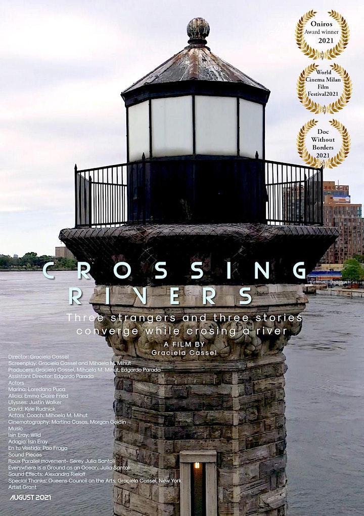 "NYC Artist Corps: ""Crossing Rivers"" Film Screening image"