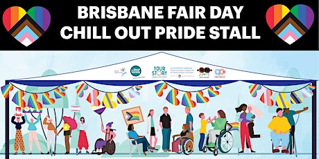QC Brisbane Fair Day Chill Out Pride Stall - Disability Access tickets