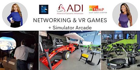 Networking & VR Games + Simulator Arcade tickets