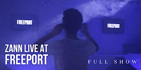 ZANN LIVE SHOW @ FREEPORT EXPERIENCE 2021 boletos