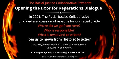 A Race Retreat:  Opening the Door for Reparations Dialogue tickets