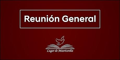 Lugar de Misericordia - Reunión General boletos