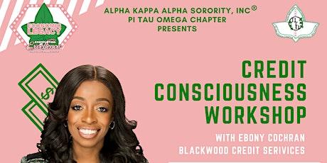 Credit Consciousness Workshop ingressos