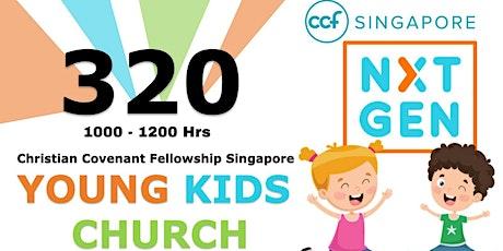 CCF SG NxtGen (YKG) Sunday Service - 26 Sept tickets