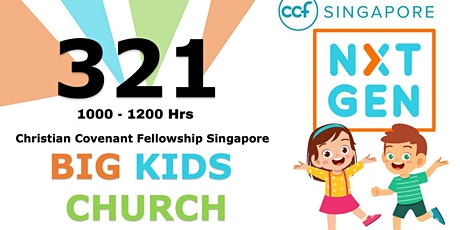 CCF SG NxtGen (BKG) Sunday Service - 26 Sept tickets