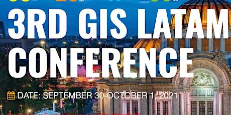 3rd Virtual Conference GIS LATAM 2021 entradas