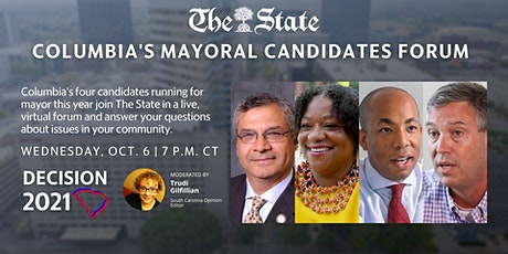 The State's Mayoral Candidates Forum tickets