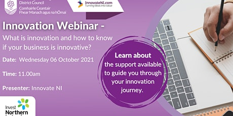 Innovation: What is it and how to know if your business is innovative? tickets