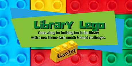 Library Lego: Robots tickets